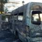 L'incendio dello scuolabus di Martone colpisce soprattutto i bambini. Ferma condanna.