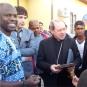 Il vescovo di Locri-Gerace  visita il Gruppo Cooperativo GOEL